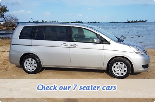 7 seater car to rent