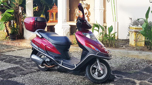 scooter rental mauritius